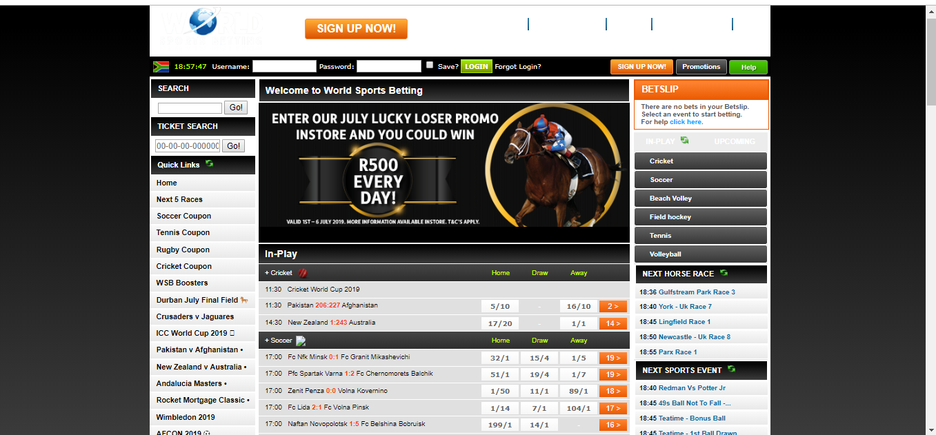 Withdraw Money from World Sport Betting Website