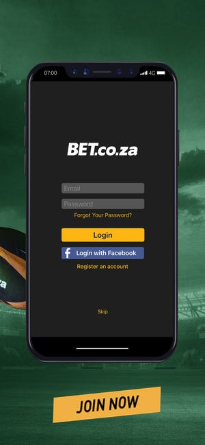 install Bet.co.za on your mobile phone
