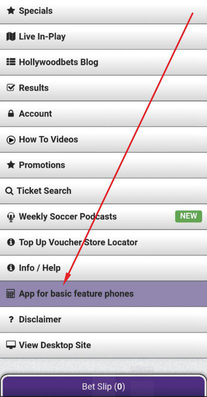 how to download Hollywoodbets app
