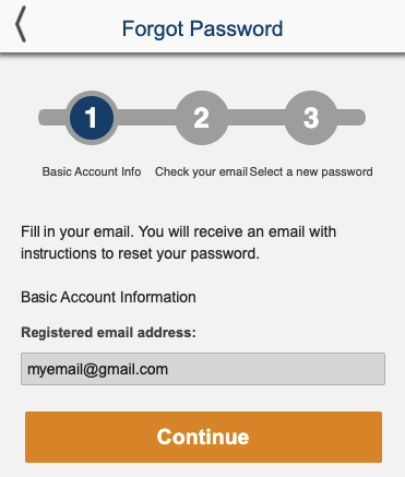 forgot account password betxchange