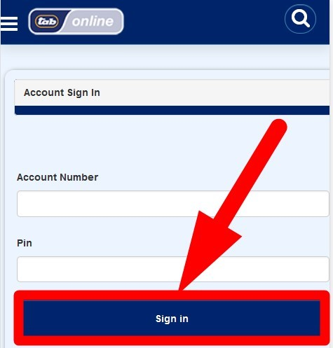 how to withdraw your money on Tab Online