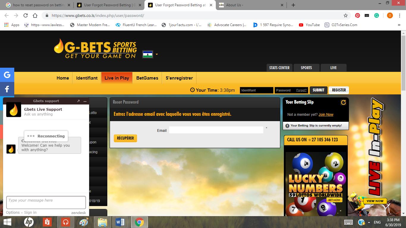 G-bets Website