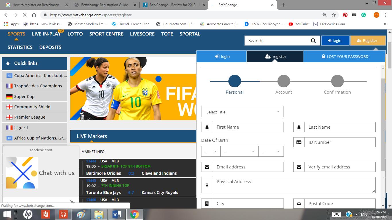 Visit Betxchange homepage