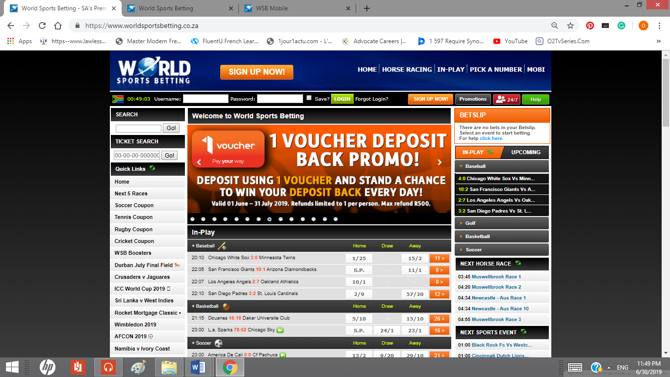 Visit the official WSB website
